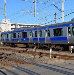 JR常磐線(松戸駅へ)